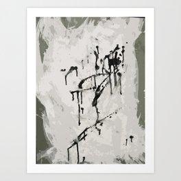murder by ink. Art Print