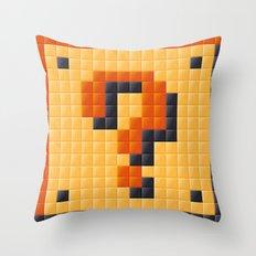 Curiouser Throw Pillow