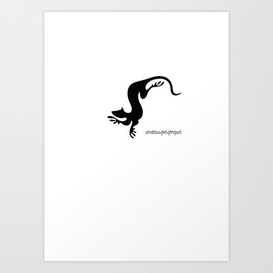 Weasel 1 Art Print