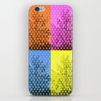 popart iPhone & iPod Skins featuring Autum popart by healinglove by Healinglove art products