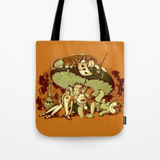 STONED IN WONDERLAND [REMIX] Tote Bag