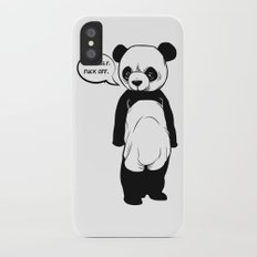Angry Panda iPhone X Slim Case