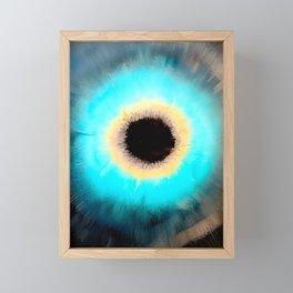 Cosmic Void Black Hole 3 Framed Mini Art Print