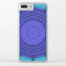 Mandala Today Clear iPhone Case