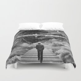 Black & White Collection -- Wandering Duvet Cover