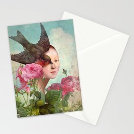 The Silent Garden Stationery Cards