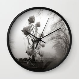 Amusements on the Road of Life Wall Clock
