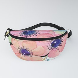 Striped anemones Fanny Pack