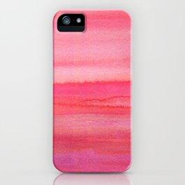 Sea of Rose Quartz iPhone Case