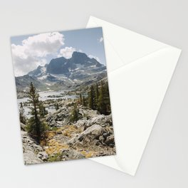 Partly Cloudy Afternoon in the Eastern Sierra Stationery Cards