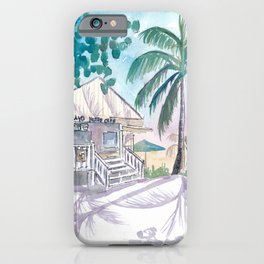 Key West Conch Dream House - Cayo Hueso Beach Cafe iPhone Case