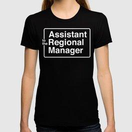 Asst. To The Regional Manager T-shirt