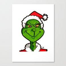 How Grinchy! Canvas Print