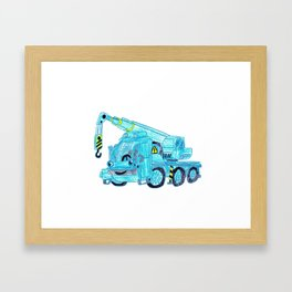 Lofty Framed Art Print