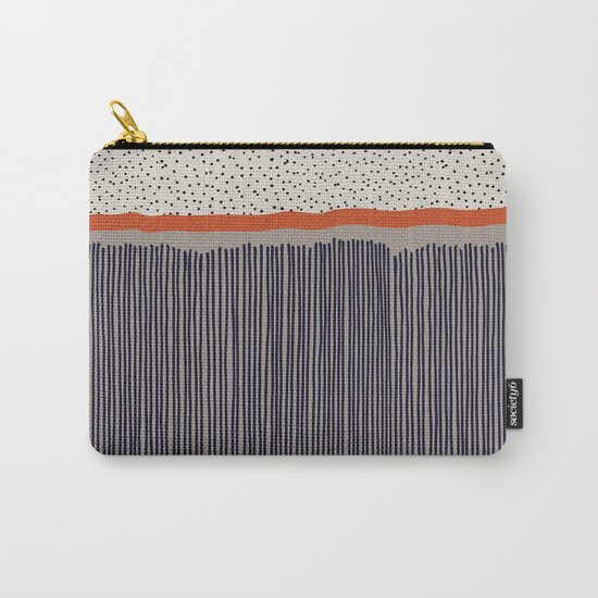 stripes and dots Carry-All Pouch