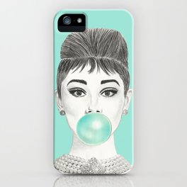MS GOLIGHTLY iPhone Case