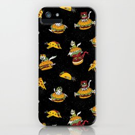I Can Haz Cheeseburger Spaceships? iPhone Case