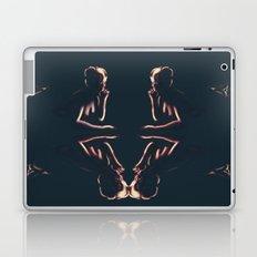 Lighted Figures [Digital Figure Illustration] Laptop & iPad Skin