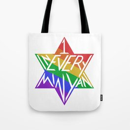 one in every minyan Tote Bag