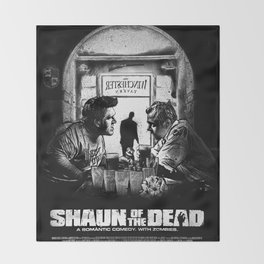 Shaun of the Dead Throw Blanket