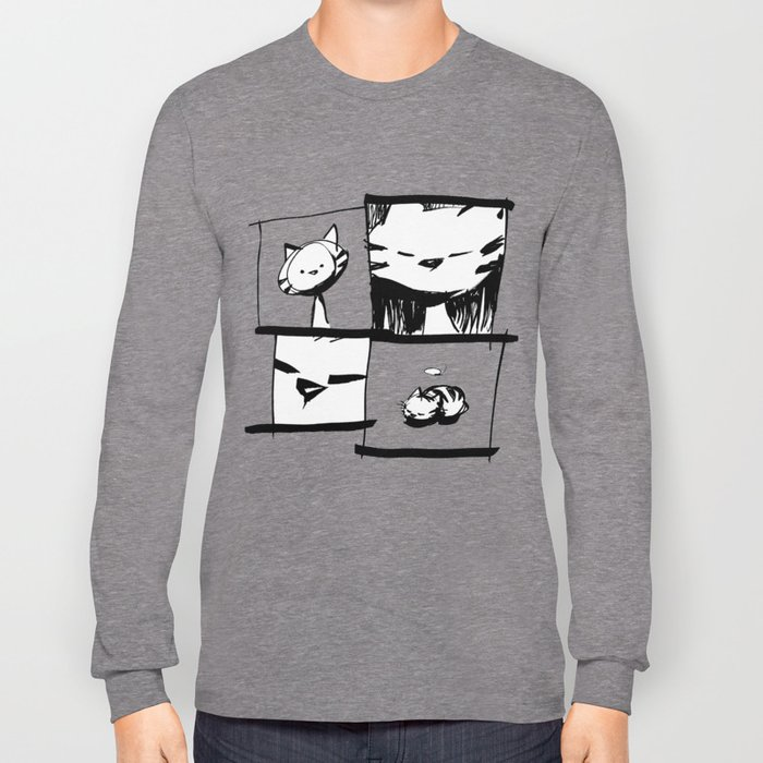 minima - IA - catnap Long Sleeve T-shirt