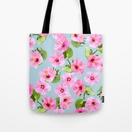 Ibiscus Dance Tote Bag