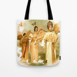 Messengers of Peace and Love Tote Bag