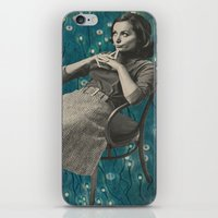 whatever iPhone & iPod Skins featuring Whatever by Imogen Art