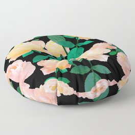 Rose vintage #Society6 Floor Pillow