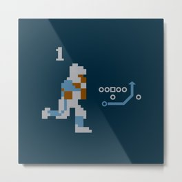 8-Bit Barry Metal Print