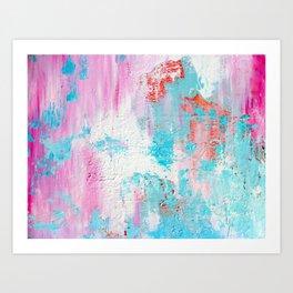 abstract blobs Art Print