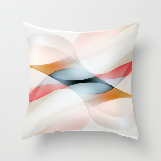 The lines Throw Pillow