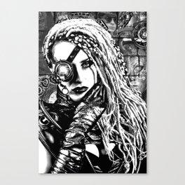 Cyber Canvas Print