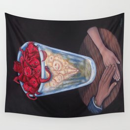 Goodnight, Fair Lady Wall Tapestry