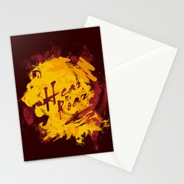 HEAR ME ROAR Stationery Cards