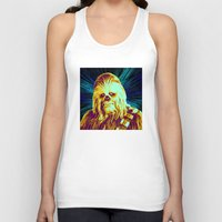 chewbacca Tank Tops featuring Chewbacca by victorygarlic - Niki
