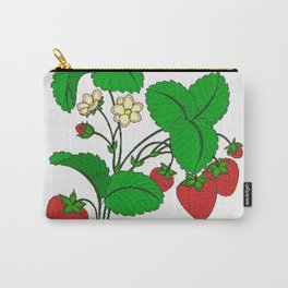 Strawberries for Breakfast Carry-All Pouch