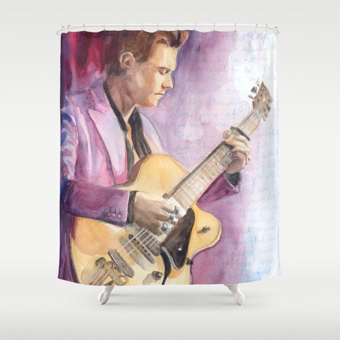 Just Like Elvis Shower Curtain