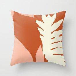 Botanical Love Throw Pillow