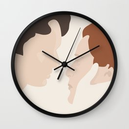 You Made Me a Whole Person Wall Clock