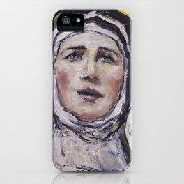 Saint Gertrudis La Magna iPhone Case