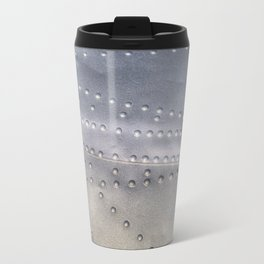 Aluminium Aircraft Skin Texture Travel Mug