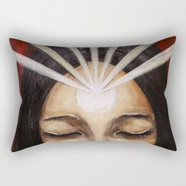 Shine Your Light for the World to See Rectangular Pillow