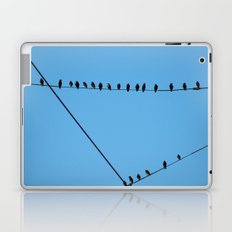 Birds on Wires Laptop & iPad Skin