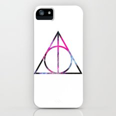 The Deathly Space Hallows iPhone (5, 5s) Slim Case