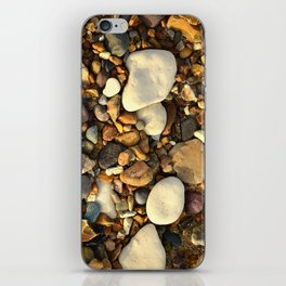 Beach Pebbles iPhone Skin