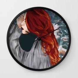 LUANNA FLOWERS Wall Clock