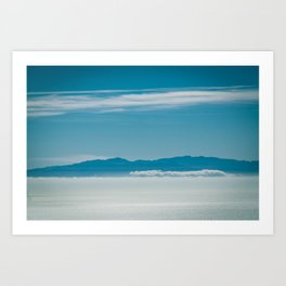 Somewhere Over the Clouds Art Print
