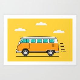 Camper Art Print