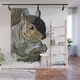 Squirrel 1 Wall Mural